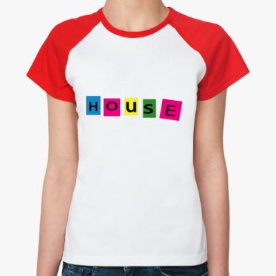 Женская футболка реглан   ()