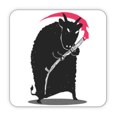 Костер (подставка под кружку) Мрачный убийца