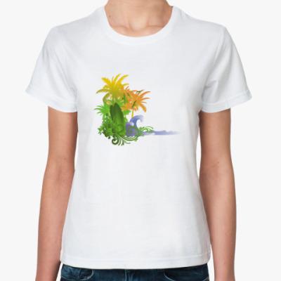 Классическая футболка  Beach