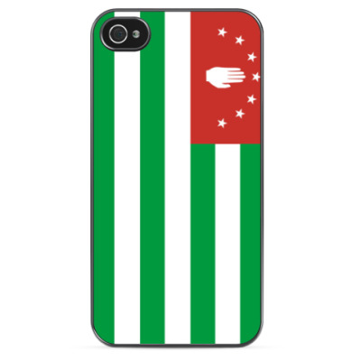 Чехол для iPhone Флаг Абхазии