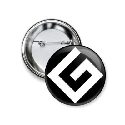 Значок 37мм Граммарнацистский значок