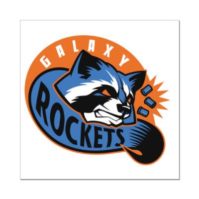 Наклейка (стикер) Galaxy Rockets