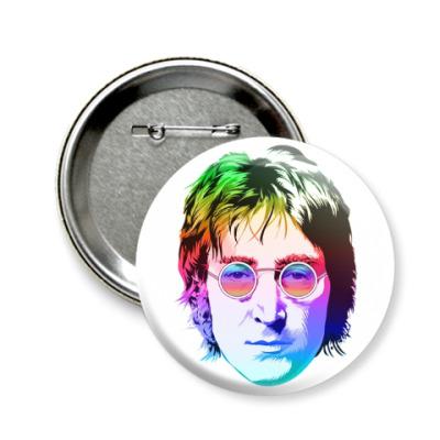 Значок 58мм John Lennon