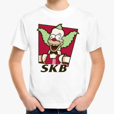 Детская футболка Krusty Burger