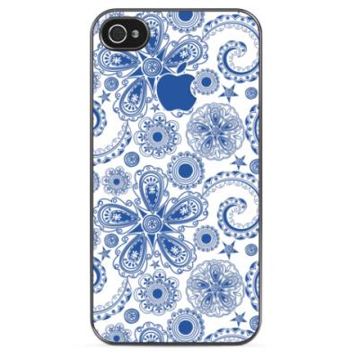 Чехол для iPhone Волшебная Гжель