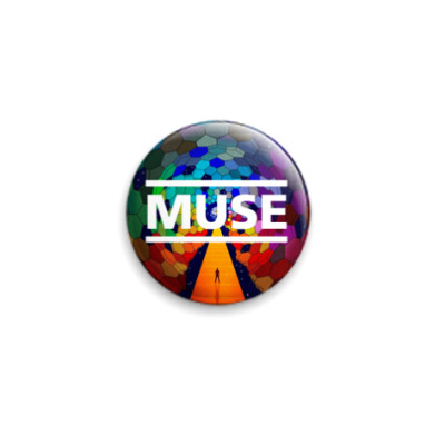 Значок 25мм  Muse The Resistance