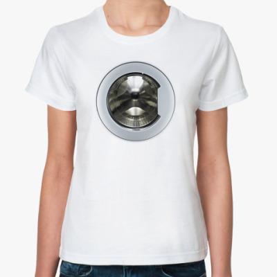 Классическая футболка Стиральная машина