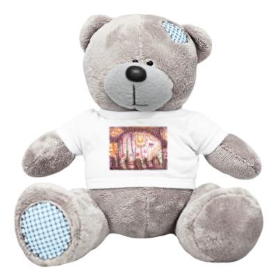 Плюшевый мишка Тедди Слоник