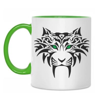 Кружка Tribal Тигр