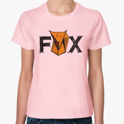 Женская футболка Fox