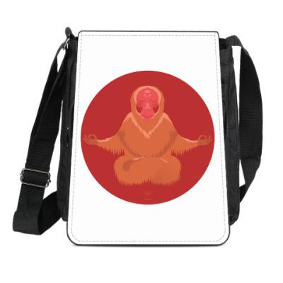 Сумка-планшет Animal Zen: U is for Uakari