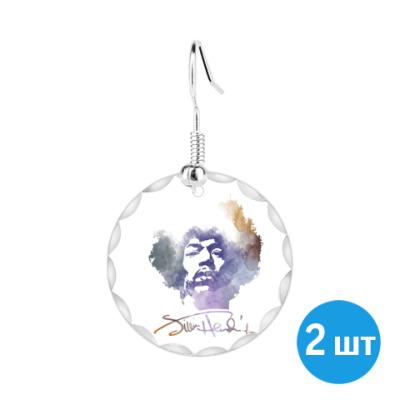 Серьги  Jimi Hendrix - Джими Хендрикс