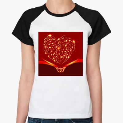 Женская футболка реглан Секс