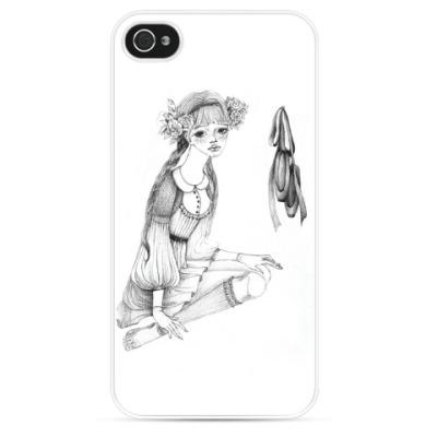 Чехол для iPhone милая танцовщица