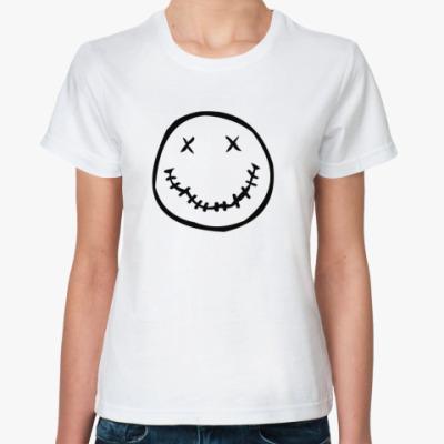 Классическая футболка Смайлик