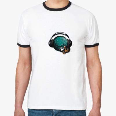 Футболка Ringer-T  Discobol
