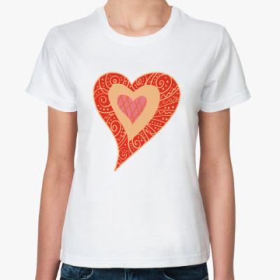 Классическая футболка My Heart