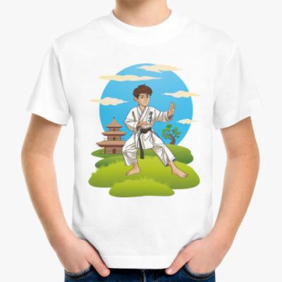 Детская футболка Кекусинкай каратэ