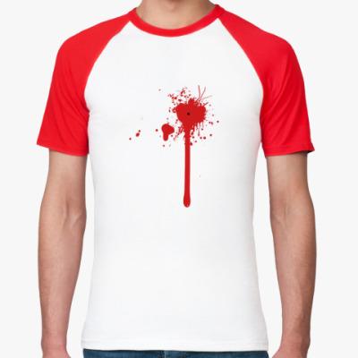 Футболка реглан Blood Splash