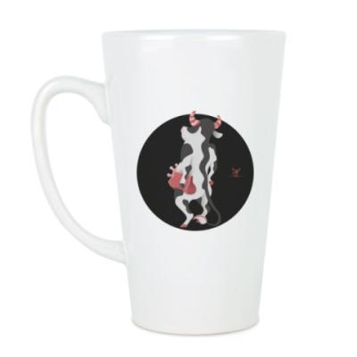 Чашка Латте  Animal Fashion: C is for Cow with a Clutch