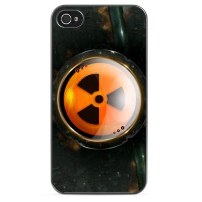Чехол для iPhone Осторожно Радиация