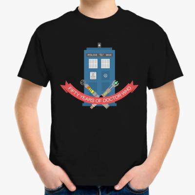 Детская футболка TARDIS
