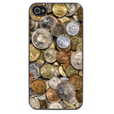 Чехол для iPhone Монетки