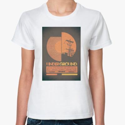 Классическая футболка Underground Life