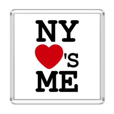Магнит NY Loves Me