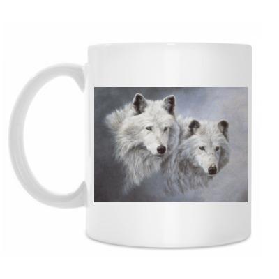 Кружка Волки