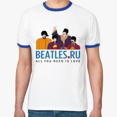 Футболка Ringer-T  футболка Beatles.ru