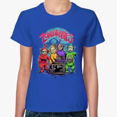 Женская футболка Зомбопузики