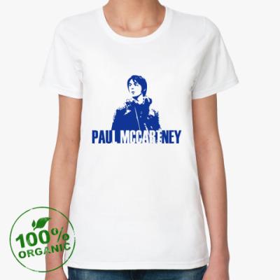 Женская футболка из органик-хлопка Paul Mccartney