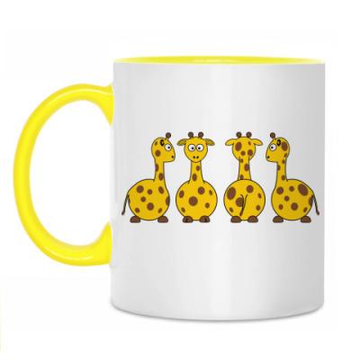 Кружка 'Жирафы'
