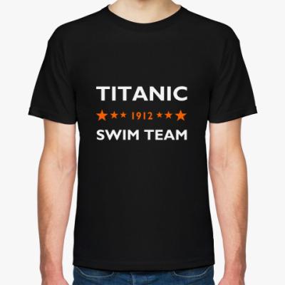 Футболка Мужская футболка Hanes Organic (черная)