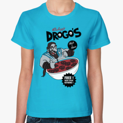 Женская футболка Drogos