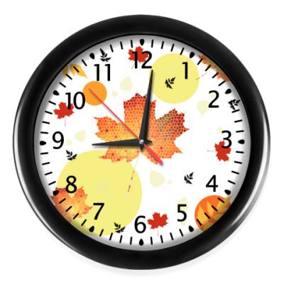 Настенные часы Осенний мотив