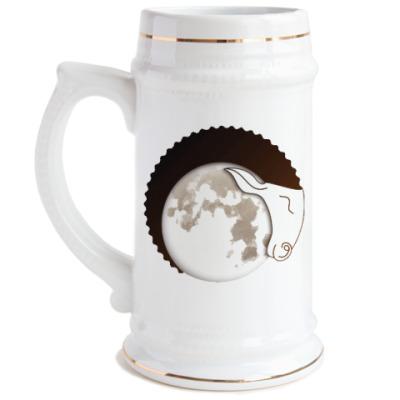 Пивная кружка Лунный Баран