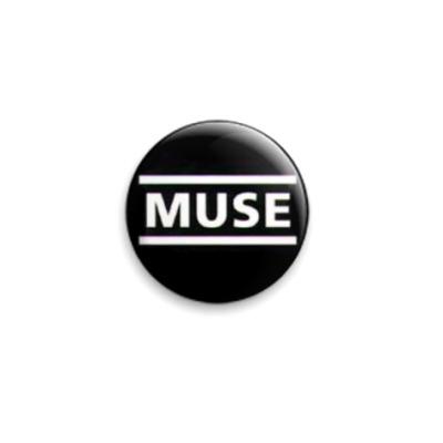 Значок 25мм  Muse