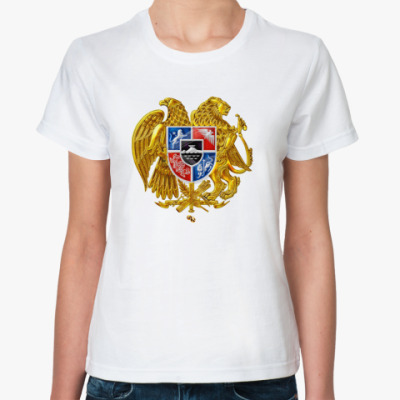 Классическая футболка Герб Армении