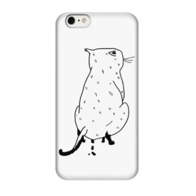 Чехол для iPhone 6/6s Какающий кот