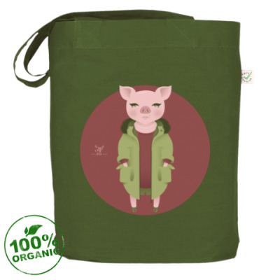 Сумка Animal Fashion: P is for Pig in parka