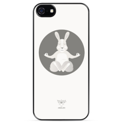 Чехол для iPhone Animal Zen: R is for Rabbit