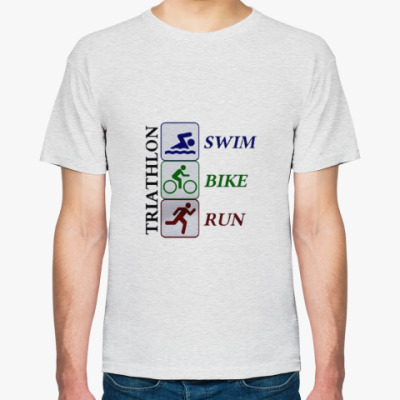 Футболка Триатлон (плавание, велосипед, бег)