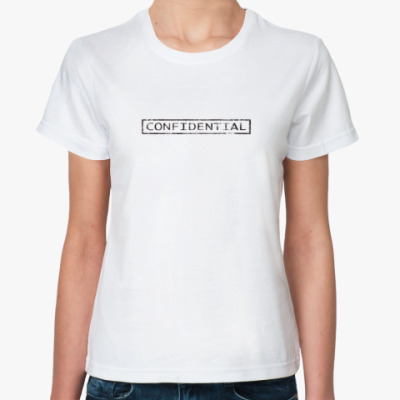Классическая футболка Совершенно секретно