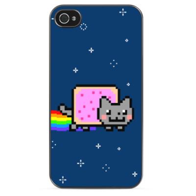 Чехол для iPhone Nyan Cat
