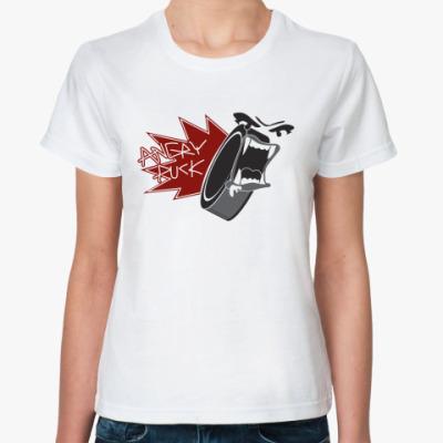 Классическая футболка Аngry Puck