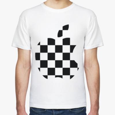 Футболка Apple шахматный