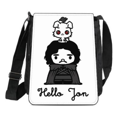 Сумка-планшет Hello Jon