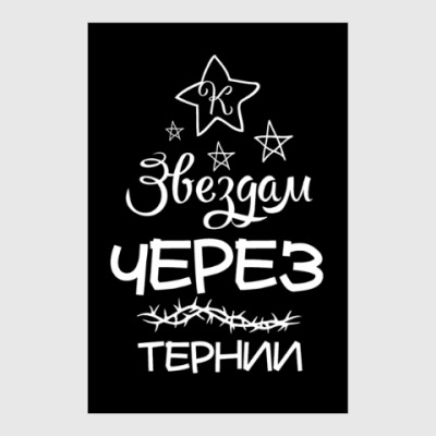 Постер Через тернии к Звездам!